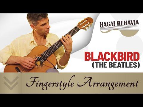 Beatles - Blackbird (Arranged For One Guitar)