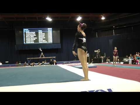 Lexie Priessman -- Floor Exercise -- 2012 U.S. Secret Classic
