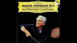 Leonard Bernstein Brahms Symphony No 2 In D Major Op 73