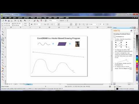 EN - 07 Learning the Basics - CorelDRAW X5 - Part 1 of 2 (CorelDRAW Graphics Suite X5)