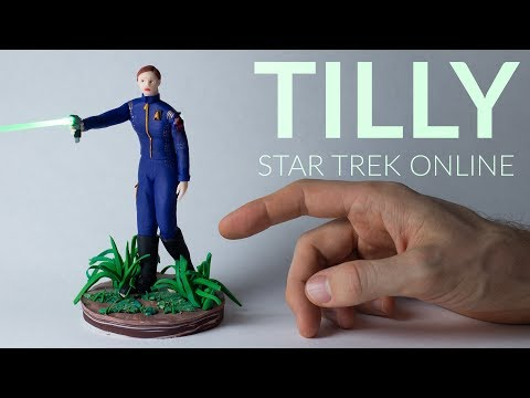 Tilly (Star Trek Online) – Polymer Clay Tutorial