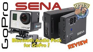 Sena Bluetooth Audio Pack for GoPro - Wireless Audio System! REVIEW