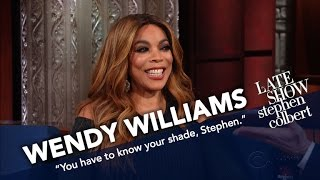 Wendy Williams And Stephen See Who Can Throw The Most Shade