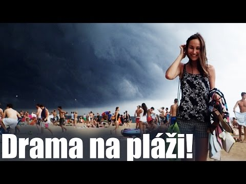 VLOG | Drama na pláži!