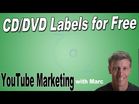 How to Make CD and DVD Labels for Free
