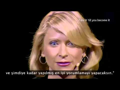 Amy Cuddy - fake it till you become it
