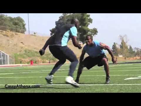 Terrell Owens Football Workout
