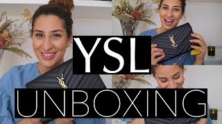 YSL SAINT LAURENT WALLET ON CHAIN UNBOXING + FIRST IMPRESSIONS || Bag Capacity, Price & Dimensions