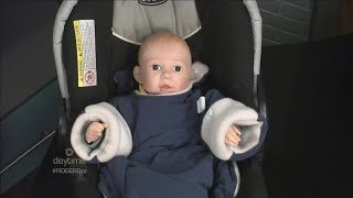 Travel Blankets Keep Babies Warm & Secure In Their Car Seat
