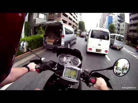 Tokyo Vlog! BMW F650GS Ride and Review