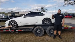 WE BROKE A WORLD RECORD | Devil Z 300ZX, Sloyote & That Fat Cat Hellcat DRAG RACING!