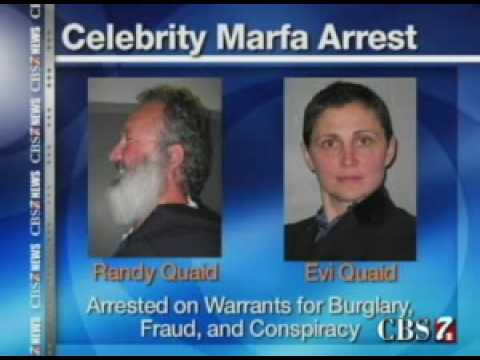 Randy Quaid's Wife Makes Statement Against Local Law Enforcement in Marfa