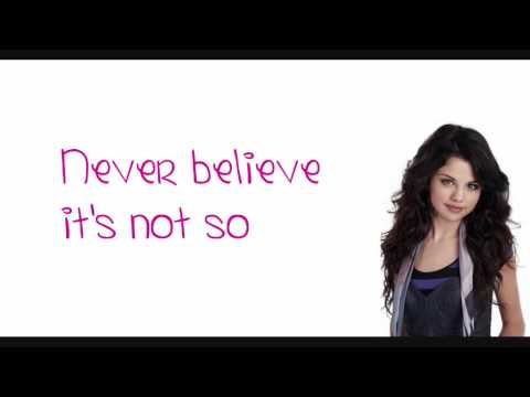 Sick  Lyrics Selena Gomez on Selena Gomez   The Scene   Sick Of You   Lyrics On Screen