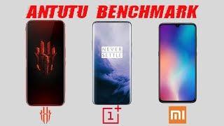 Red Magic 3 vs OnePlus 7 Pro vs Mi 9: Antutu Benchmark