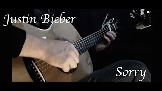 Justin Bieber - Sorry - Fingerstyle Guitar