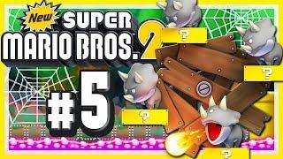 NEW SUPER MARIO BROS. 2 # 05 💰 Von innovativen Spinnweben und recycelten Bosskämpfen! [HD60]