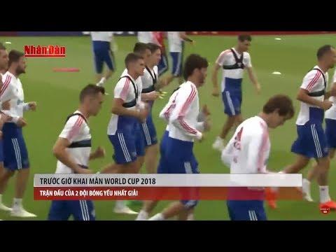 Bản tin thể thao (7h10 - 14/6) - Trước Giờ Khai Màn World Cup 2018 | tin tuc 24h moi nhat hom nay