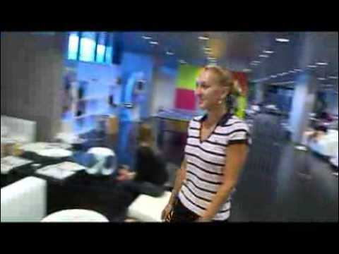 Elena Vesnina gets a makeover Video