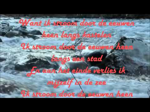 Stef Bos -  De Rivier + Lyrics on screen