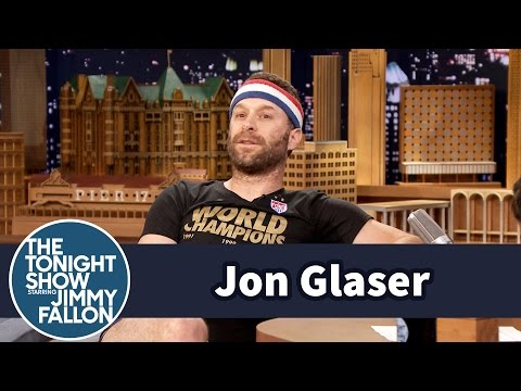 Jon Glaser Dresses Up for the U.S. Women's World Cup Champs