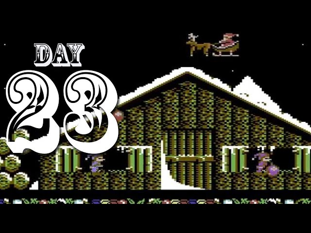Side-Scrolling Santa! - The IGN Advent Calendar, Day 23