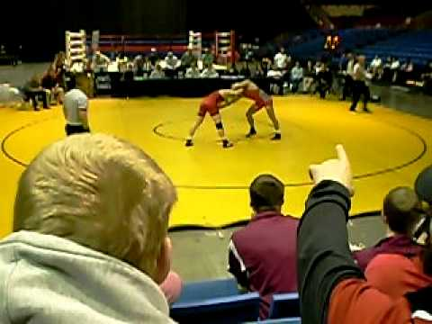 2009-12-05 Cliff Keen Invitational 165 Finals Andrew Howe vs Colt Sponseller