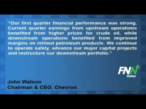 Chevron Reports Mixed Q1, Beats EPS By $0.05, Revenue Up 23% But Huge Miss