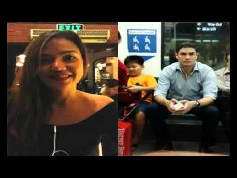 """Filipina needs help to find a """"Guy in the Train"""" goes viral."""