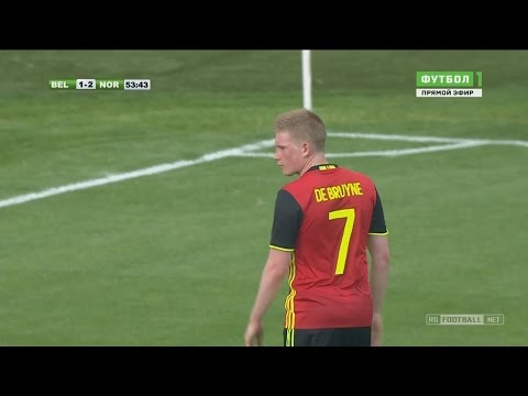 Kevin De Bruyne vs Norway (Home) 5/6/2016 HD 720p 50fps