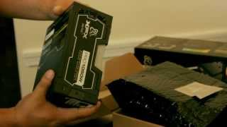 Unboxing The XFX Pro Series 1050W Power Supply. Features. Black Edition.