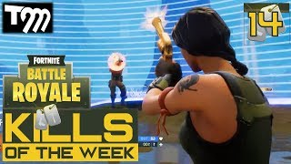 Fortnite: Battle Royale - TOP 10 KILLS OF THE WEEK #14