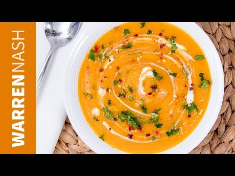 Spicy Butternut Squash Soup Recipe - Easy & Tasty Winter Recipes by Warren Nash