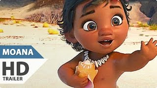 Disney's MOANA International Trailer (2016)