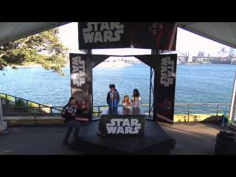 Star Wars Toy Unboxing - Sydney
