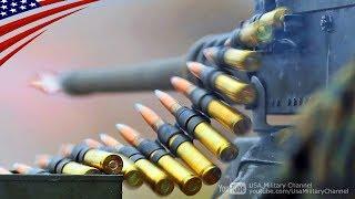 US Marines M2A1 .50 Cal Machine Gun Training