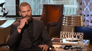 Jamie Dornan - Answers Fan Questions (Press for Fifty Shades Darker)