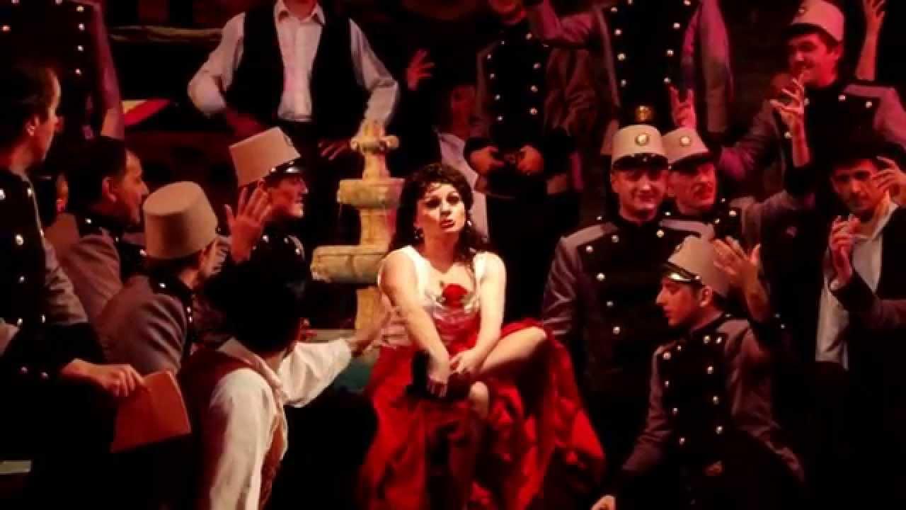 Ноты арии хабанера из оперы кармен