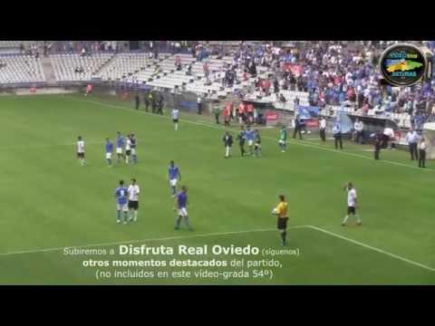 Real Oviedo 3 - Burgos 1 desde Grada -- nº 54 de VideoblogASTURIAS.com