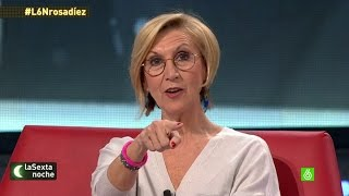 """Rosa Díez: """"Pablo Iglesias debería arrepentirse de tratar de boicotearme"""""""