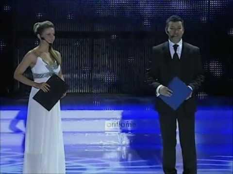 Danijela Jagodić i Rajnat Majstorović u programu @ Miss BiH 2009