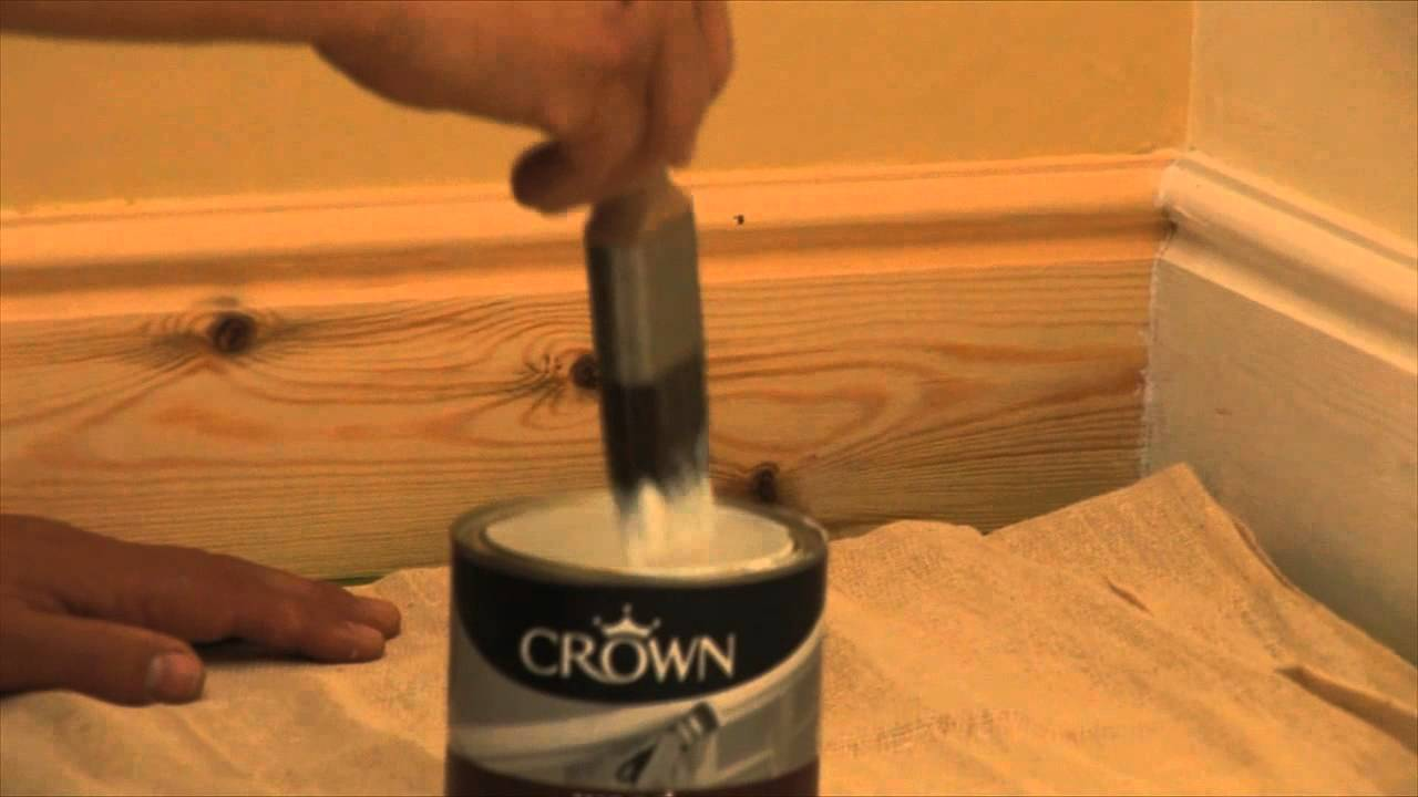 how to prime and paint your skirting boards youtube. Black Bedroom Furniture Sets. Home Design Ideas