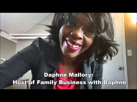 Family Business with Daphne   Radio Show Promo