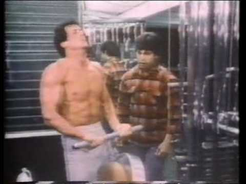 Rocky 3 - rare training- / behind the scenes clip