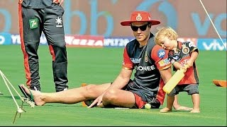 AB de Villiers Son Playing IPL In Chinnaswamy Stadium   YouTube 720p