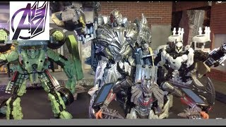 Transformers The Last Knight- EPIC FINAL BATTLE Pt2 (Optimus vs Megatron) [Stop Motion]