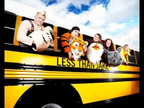 Less Than Jake - All My Best Friends Are MetalHeads w/ lyrics