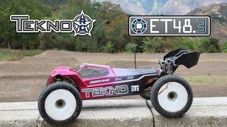 Tekno ET48.3 RC Truggy - 1800KV Sensored Motor/Hobbywing 150a ESC/4s 6500 mah 70C/140C Lipo
