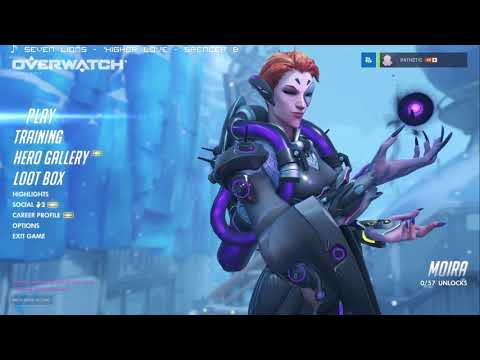 Ster Streams - Overwatch! Moira in ranked!