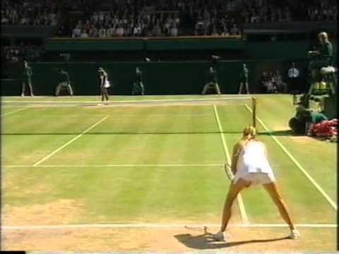 Maria sharapova vs Serena Williams Wimbledon 2004 final