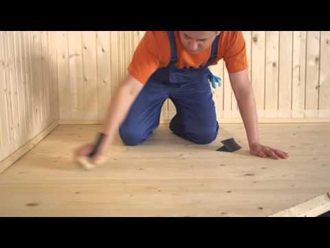 ТЕКС: Как лакировать деревянные полы - Смотри все про ремонт